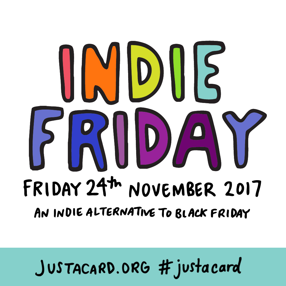 Indie Friday Square by Angela Chick